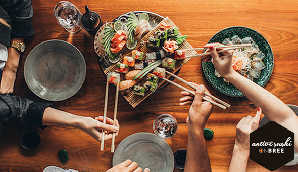 Active Sushi on Bree: A 35 Piece Sushi Platter at only R149!
