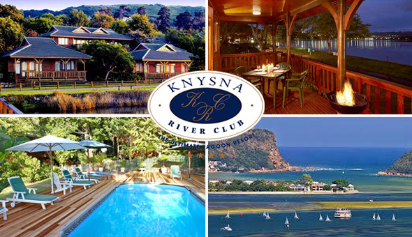 Escape to the 4-star Knysna River Club for a 2 Night Getaway for up to 4 People!