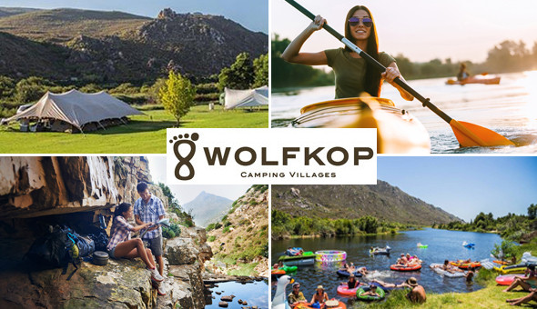 Citrusdal: A 2 Night Stay for up to 6 People in a Fully Equipped Camping Village at Wolfkop Camping Villages!