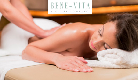 The Deep Relaxation Massage Package at Bene-Vita Wellness Day Spa, Kenilworth!
