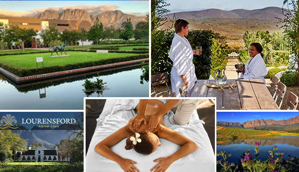 A Luxury Spa Experience at Lourensford Wine Estate & Boutique Day Spa!