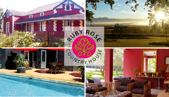 Spoil her with a Romantic Country Getaway for 2 People, including Breakfast at Ruby Rose Country House!
