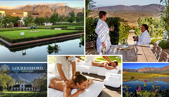 A Luxury Couples Spa Experience at Lourensford Wine Estate & Boutique Day Spa!