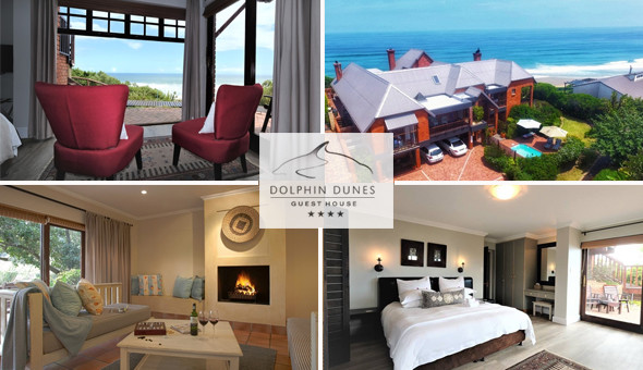 Dolphin Dunes Guest House: A 2 Night Stay 2 People, including Breakfast at only R1399!