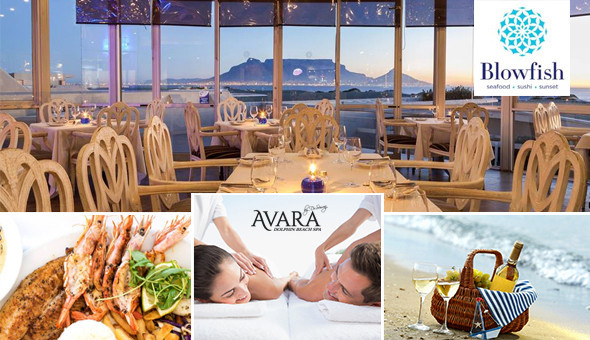 Blouberg: Couples Spa Luxury with a Seafood Platter or a Beach Picnic!