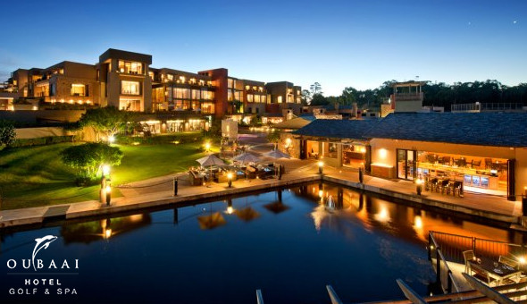 Oubaai Hotel Golf & Spa: Luxury Getaway for 2 People, including Breakfast Buffet and Discounts on Spa Treatments, Dining-Out & Beverages!