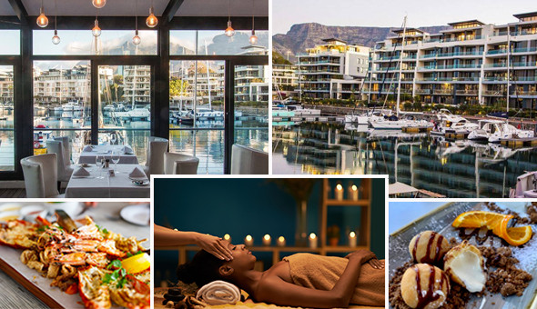 Couples Luxury: An Exclusive 2-Course Gourmet Dining Experience for 2 People and a Luxury Couples Spa Package!