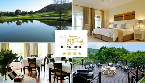 A 1 Night Stay for 2 People in a Luxury King Room, including Breakfast at The 4-Star Redbourne Country Lodge, Plettenberg Bay!