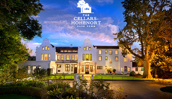 Spoil her at The 5-Star Cellars-Hohenort Hotel in Constantia: A 2 Night Stay for 2 People, including Breakfast Buffet, Minibar, Spa Bonuses and a Romantic Turndown with Gourmet Chocolates and a Bottle of Rosé Méthode Cap Classique!
