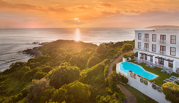 Spoil her at The 5-Star Plettenberg Hotel: A 2 Night Stay for 2 People, including Breakfast Buffet, Minibar, Spa Bonuses and a Romantic Turndown with Gourmet Chocolates and a Bottle of Rosé Méthode Cap Classique!