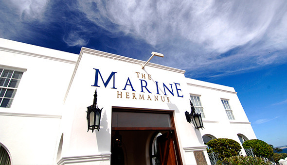 Spoil her at The 5-Star Marine Hotel in Hermanus: A 2 Night Stay for 2 People, including Breakfast Buffet, Minibar, Spa Bonuses and a Romantic Turndown with Gourmet Chocolates and a Bottle of Rosé Méthode Cap Classique!