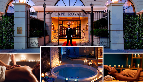 Couples Welcome Ritual, 4 Luxury Couples Spa Treatments, Couples Steam Room Experience & More! The Luxurious Couples Spa Collection at The 5-Star Cape Royale Luxury Hotel & Spa!
