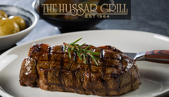 An Exclusive 2-Course Dining Experience for 2 People at The Hussar Grill, GrandWest!