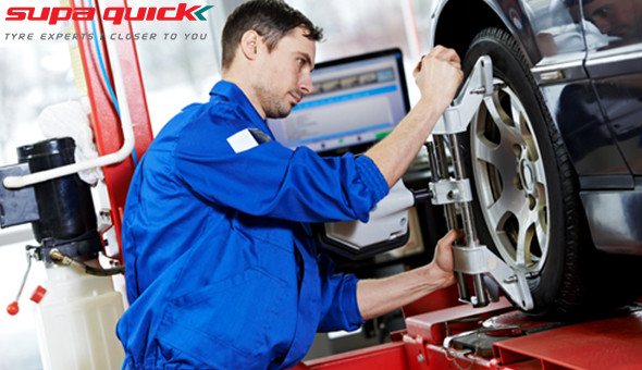 Supa Quick: 3D Wheel Alignment and Nitrogen Inflation for only R99!