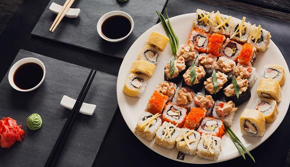 Up to 100 Pieces of Gourmet Sushi at Thaiyashi Thai Cuisine & Sushi Bar, Newlands!