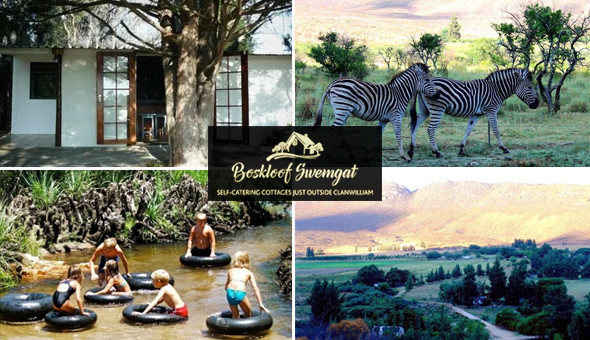 Magical Family Getaway for up to 4 People in a Self-Catering Country Cottage at Boskloof, Clanwilliam!