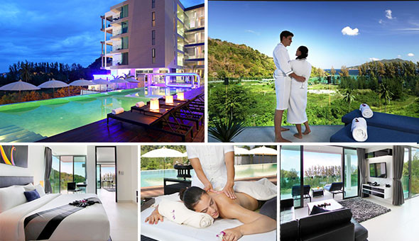 Escape to the 4-star Twin Sands Hotel & Spa in Phuket for a 7 Night Stay for 2 Adults at only R999 (Value: R26 175)!