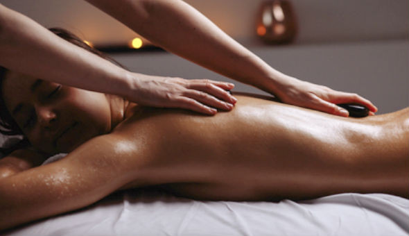 Spoil yourself with a Luxury Herbal Hot Stone Full Body Massage or a Stress Relief Full Body Massage at Earth, Body & Skin, Claremont!