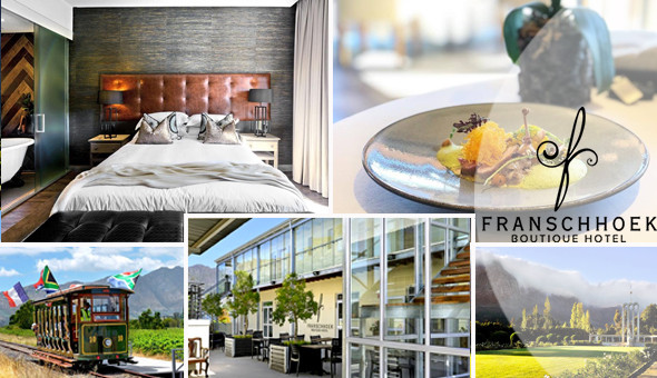 Franschhoek Boutique Hotel: Spoil her with a luxurious 2 Night Stay for 2 People, including Breakfast Buffet!