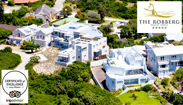 5-Star Beachfront Luxury: A 1 Night Stay for 2 People, including Breakfast at The Robberg Beach Lodge, Plettenberg Bay!