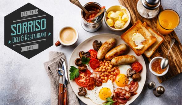 Gourmet Breakfast for up to 4 People at Sorriso Deli & Restaurant, Milnerton!