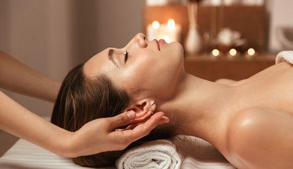 A Back, Neck & Shoulder Massage or a Luxury Full Body Massage with a Mini-Manicure or Mini-Pedicure at Body Vitality Studio, Kenilworth!