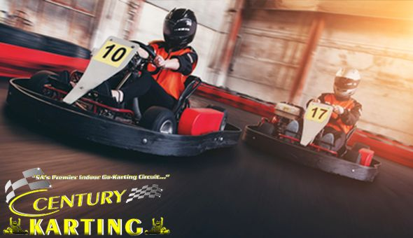 Go Karts Are Back! Go Karting Fun for 1 Person at Century Karting, Canal Walk.