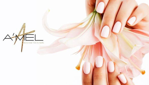 Deluxe Manicures or Pedicures with Paint OR Gel at Haus Of A'Mel Aesthetics Spa, Century City!