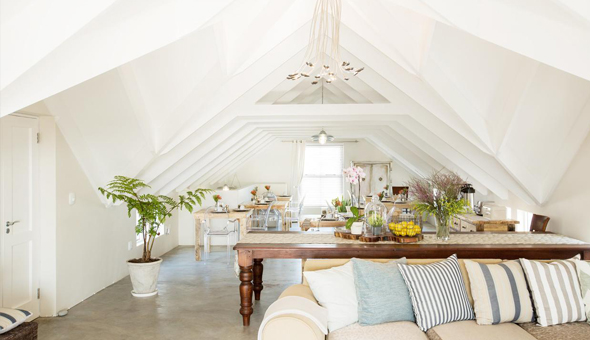 A 2 Night Stay for 2 People in a Luxury Room, including Breakfast at De Linden Boutique Guest House, Paternoster!