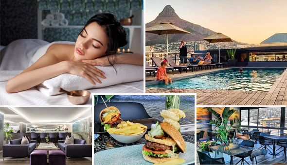 Luxury Half-Day Spa Experience with Breakfast or Gourmet Lunch at The Purple Orchid Day Spa, located at The 4-Star Hyde Hotel, Sea Point!