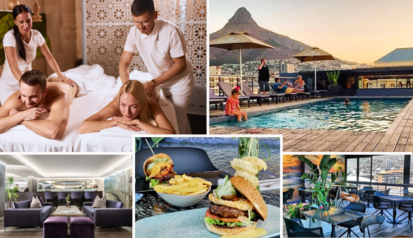 The Luxury Couples Half-Day Spa Experience with Breakfast or Gourmet Lunch at The Purple Orchid Day Spa, located at The 4-Star Hyde Hotel, Sea Point!