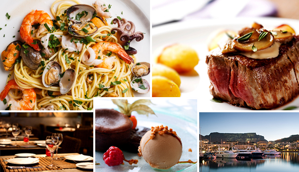 An Exclusive 2-Course Gourmet Dining Experience for 2 People at Via Vittoria, V&A Waterfront! Dine on the likes of; Seafood Pasta, Sirloin Steak, Ribs, Tiramisu, Chocolate Fondant & More!