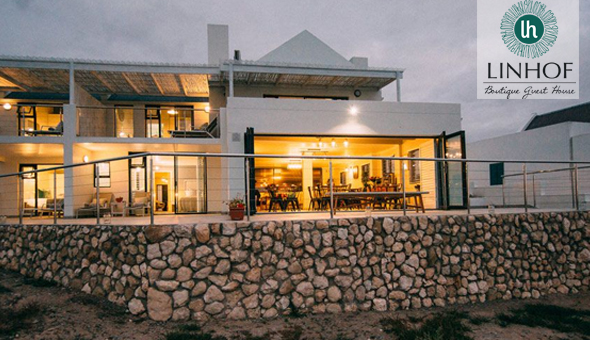 Exclusive: A 2 Night Stay for 2 People in a Luxury Room, including Breakfast at Linhof Boutique Guest House, Paternoster!