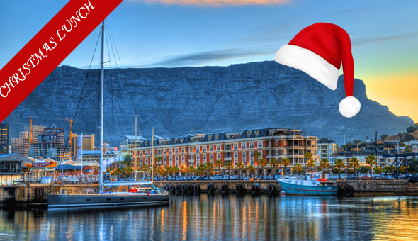 V&A Waterfront: A 3-Course Christmas Day Lunch for 1 Person at Karibu Restaurant!