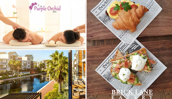 Couples Half Day Spa Package with Gourmet Breakfast or Lunch at The Purple Orchid Spa, Century City!