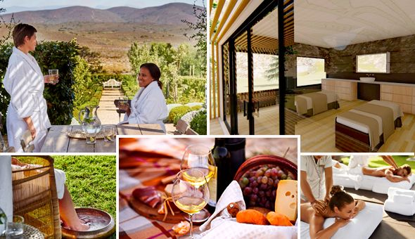 Luxury 2-Day Spa Retreat in Franschhoek: A 2 Night Stay for 2 People, Luxury Couples Spa Treatments over 2 Days, Couples Relax Session in the Jacuzzi, a Cheese Platter with a Bottle of Allee Bleue Wine and a Gourmet Picnic!