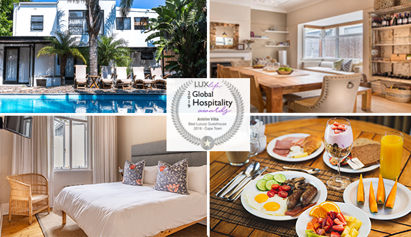 A 1 Night Stay for 2 People, including Buffet Breakfast at Antrim Villa, Green Point!