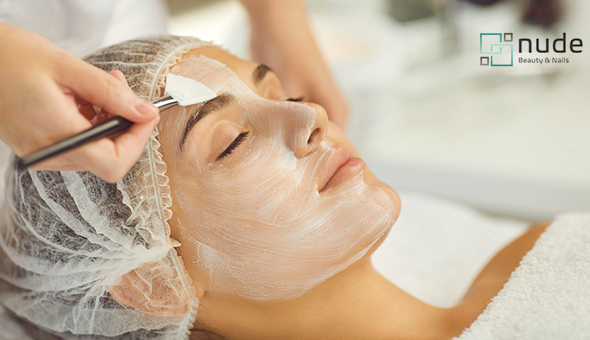 A Chemical Peel at Nude Beauty, Century City! Chemical Peel Choices: Glycolic, Hydrating, Hyper-pigmented, Problematic OR Alkaline.
