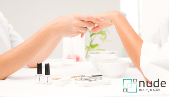 A Full Manicure at Nude Beauty, Century City!