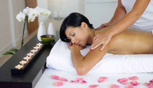 A Back, Neck, Shoulder and Head Massage at Rose Day Spa, High Street Lifestyle Centre, Tygervalley!
