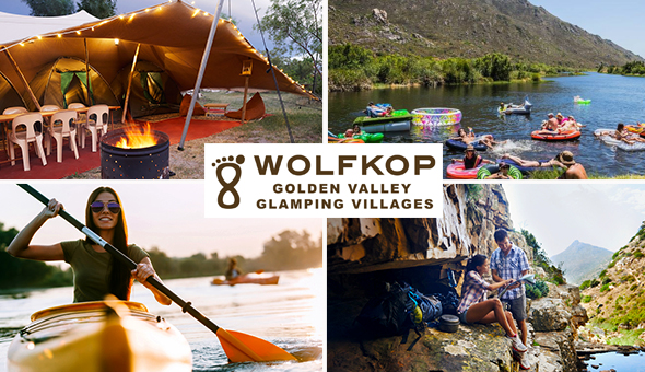 A 2 Night Stay for up to 6 People in a Luxury Glamping Villa at Wolfkop Golden Valley Glamping Villages, Citrusdal!