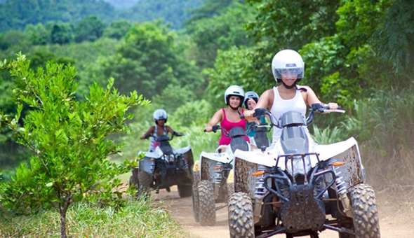 A Guided Quad Bike Trail Adventure for up to 6 People with WildX Adventures!