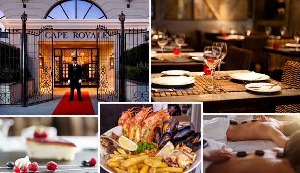 A Luxury Couples Spa Package & a 3-Course Gourmet Dining Experience for 2 People!