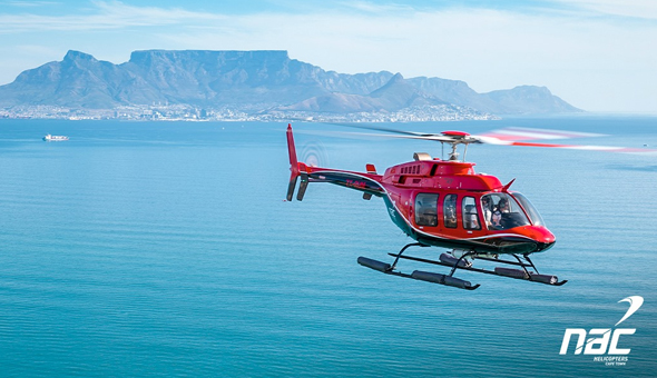 A Scenic Helicopter Flight for 1 Person with NAC Helicopters Cape Town!