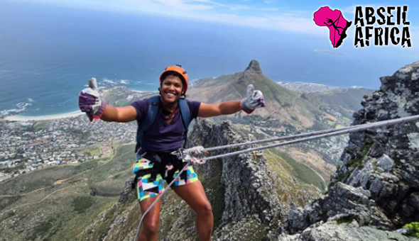 A Table Mountain Abseiling Adventure for 1 Person - No Experience Needed