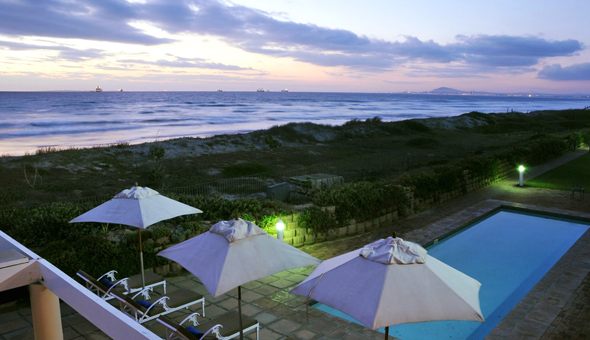 Beachfront Getaway: A 1 Night Stay for 2 People in a Self-Catering Beachfront Apartment at Leisure Bay, Lagoon Beach Waterfront!