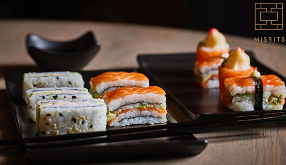 Gourmet Sushi for up to 6 People at Misfits by Ideas Cartel, The Old Foundry, De Waterkant!