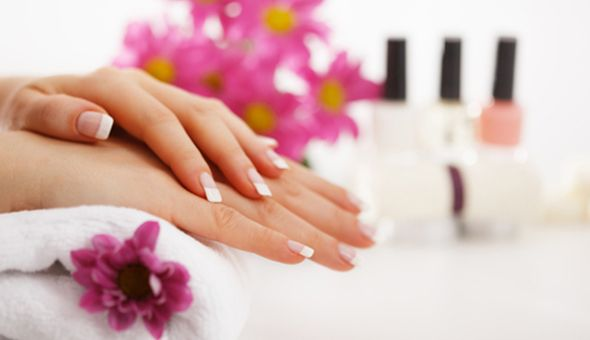 A Full Manicure with Gel or a Full Pedicure with Gel at Simply Thai, Plumstead!