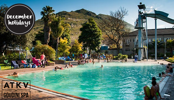December Holiday at ATKV Goudini Spa: A 2 Night Stay for up to 5 People in an Upgraded Rondavel!