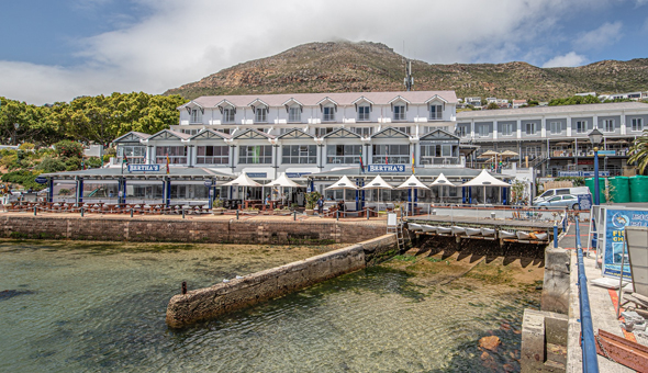 A 2 Night Stay for 2 People in a Sea Facing Room at The 4-Star aha Simon's Town Quayside Hotel!